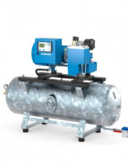 Винтовые компрессоры CLR3 - CLR7 до 5.5 кВт с прямым приводом на ресивере