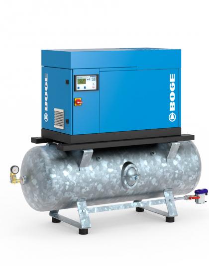 Винтовые компрессоры серии C 9 LFR с впрыском масла, прямым приводом и частотным регулированием на ресивере
