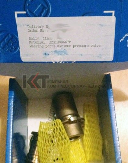 2231308667P Ремкомплект клапана минимального давления