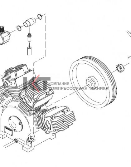 100122496EP BOGE SKM 36 Запасной компрессор