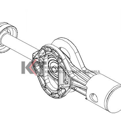 100026200P BOGE Запасной двигатель K 6 - K 15